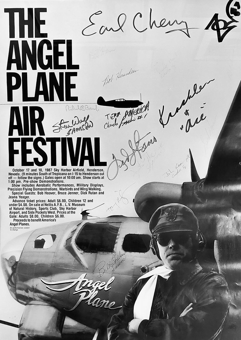 Angle plane airshow poster
